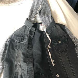 Mud denim jacket